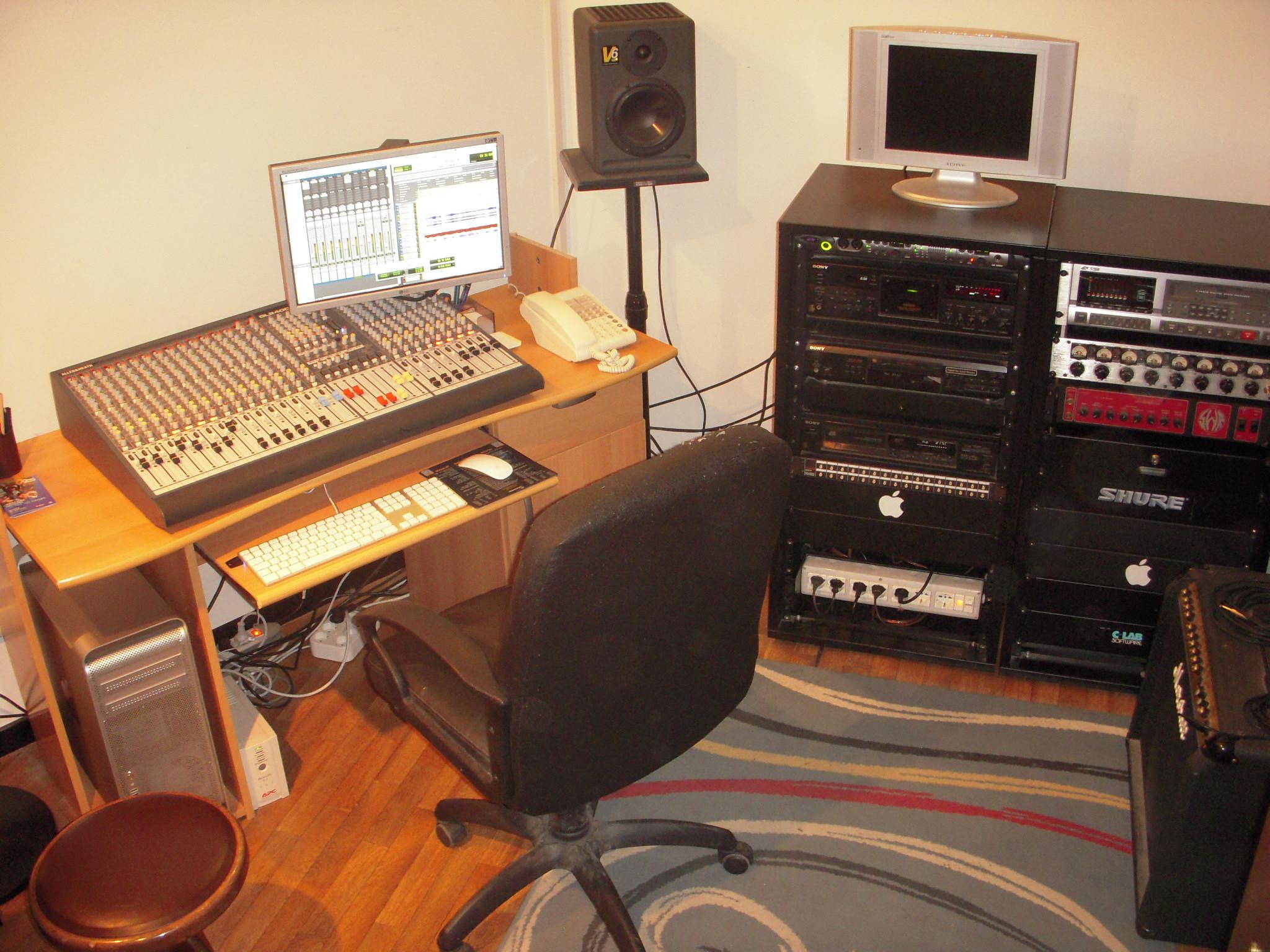 Sala b cat sound studio - Sala insonorizzata ...