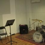Una sala prove attrezzata e confortevole